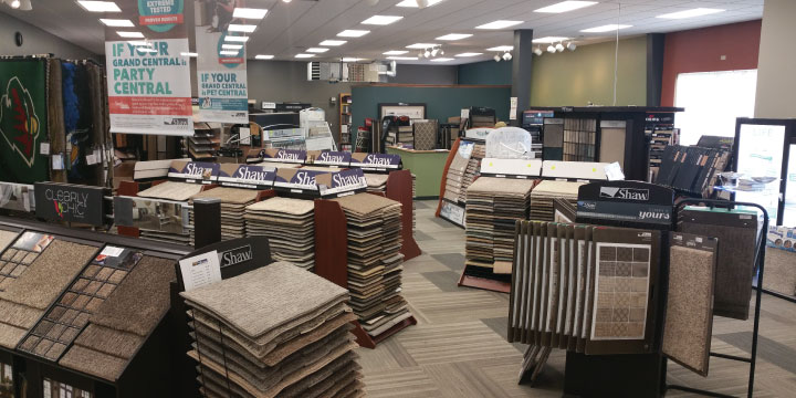 Floor To Ceiling Showroom Carpet